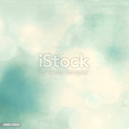 istock Soft blue fresh nature background 496915650