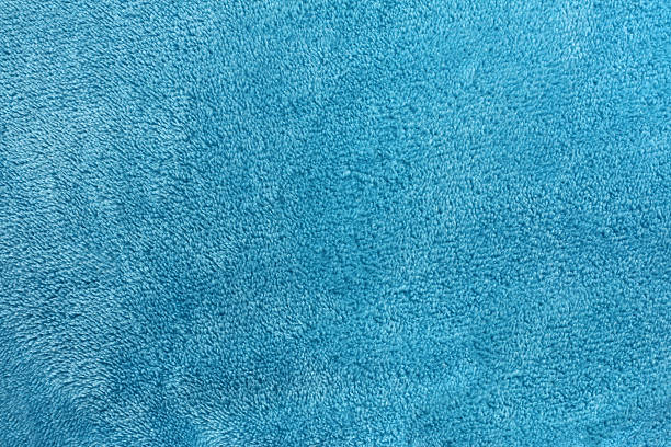 Soft Blue Microfleece Background stock photo