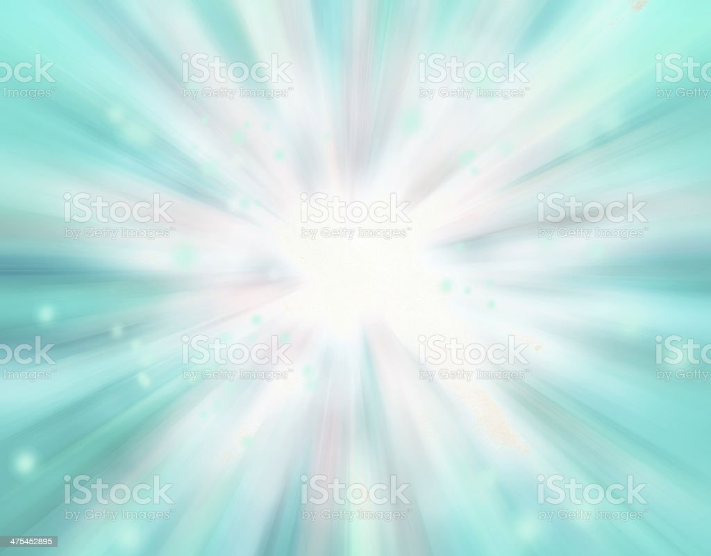 soft blurred rays of light, speed effect, bokeh lights stock photo