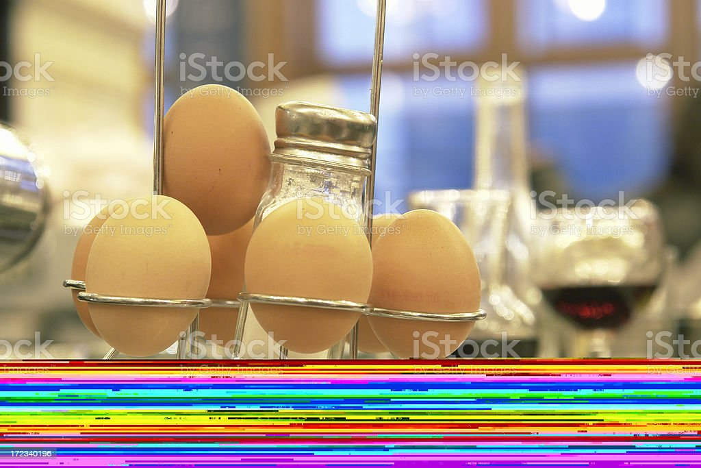 Soft Boiled Egg royalty-free stock photo