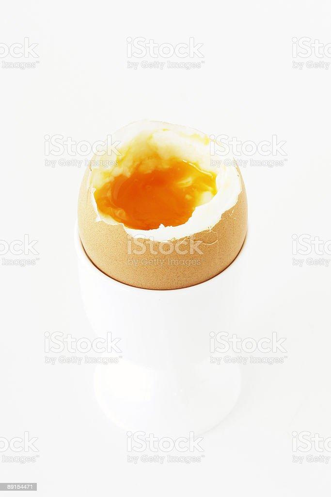 Soft Boiled Egg royalty-free stock photo