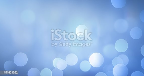 istock Soft Bokeh Background (Blue) 1151621522