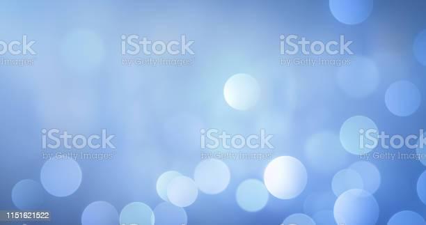 Photo of Soft Bokeh Background (Blue)
