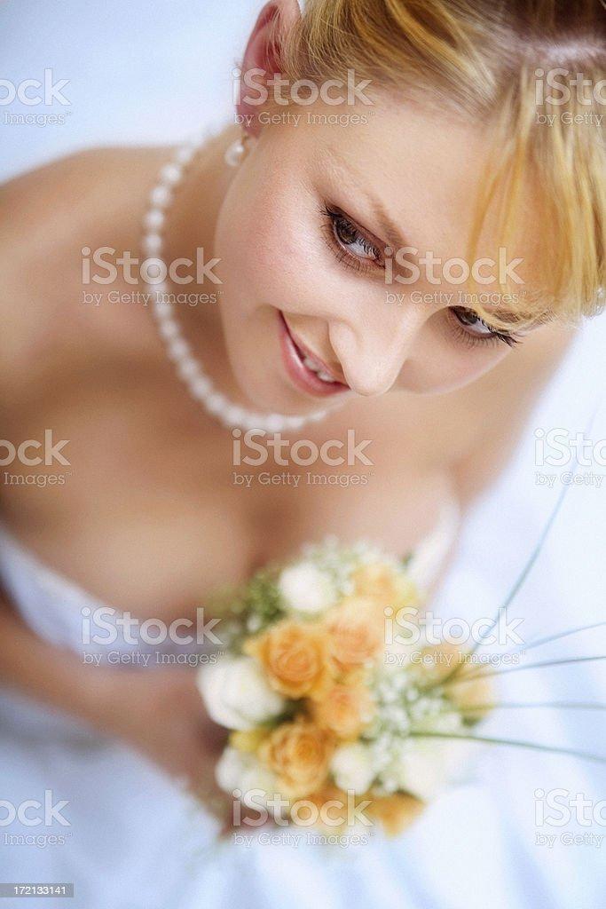 Soft Bride royalty-free stock photo