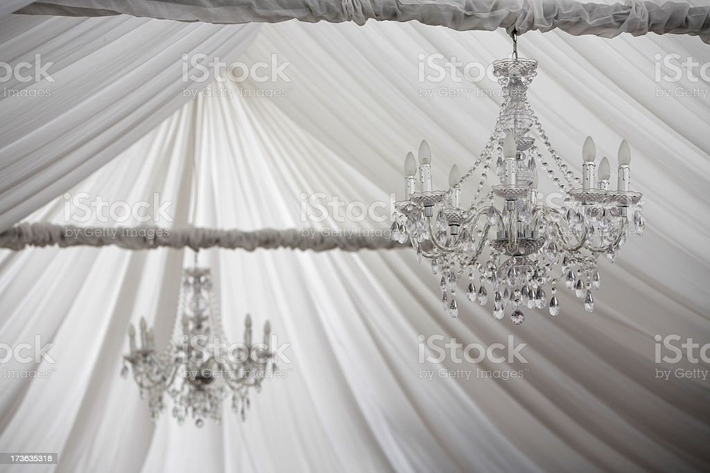 Soft Chandelier royalty-free stock photo