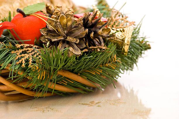 Soft Christmas Decoration stock photo