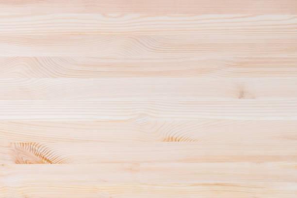 soft clean wood background - top view, wood table, empty imagens e fotografias de stock