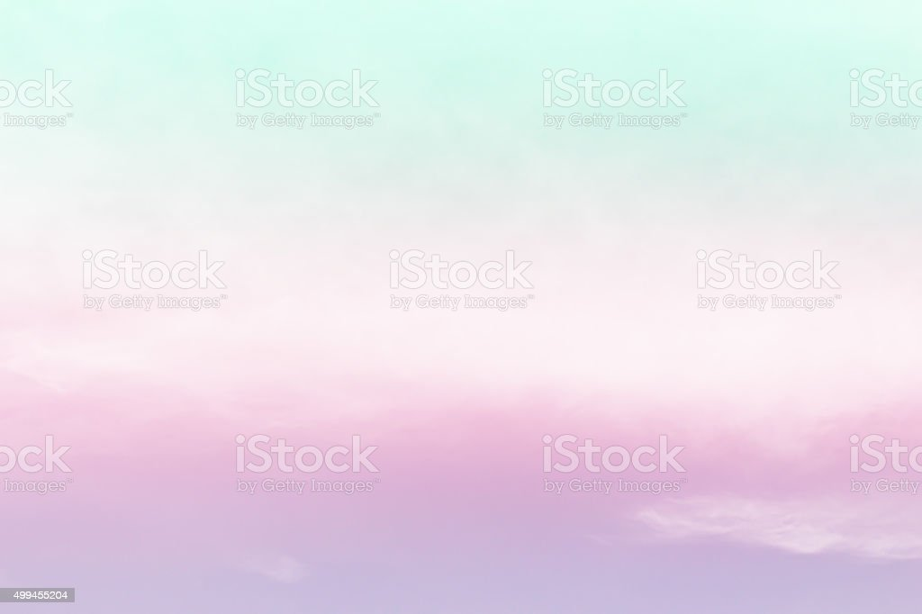soft cloud background with gradient colorful