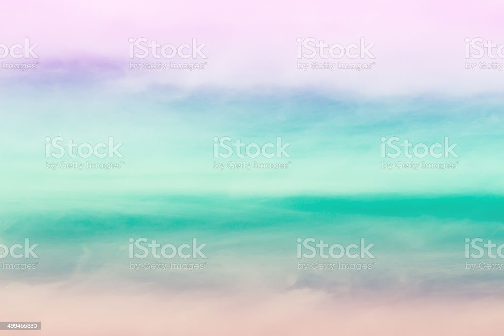 soft cloud background with gradient colorful stock photo