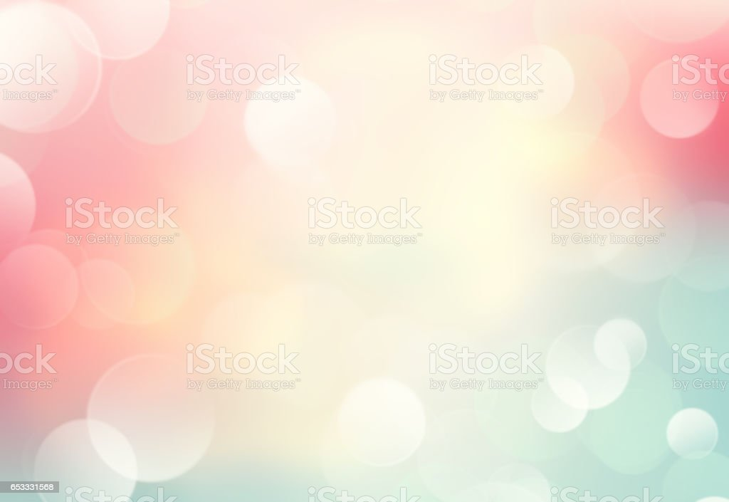 Soft colors blurred spring summer blurred background.