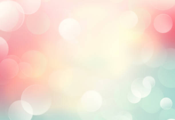 soft colors blurred spring summer blurred background. - pastel colored stock pictures, royalty-free photos & images