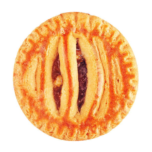 weiche cookie mit apple-paste - apfel marzipan kuchen stock-fotos und bilder
