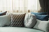 istock soft cozy pillows on modern sofa background home design concept 1263419567