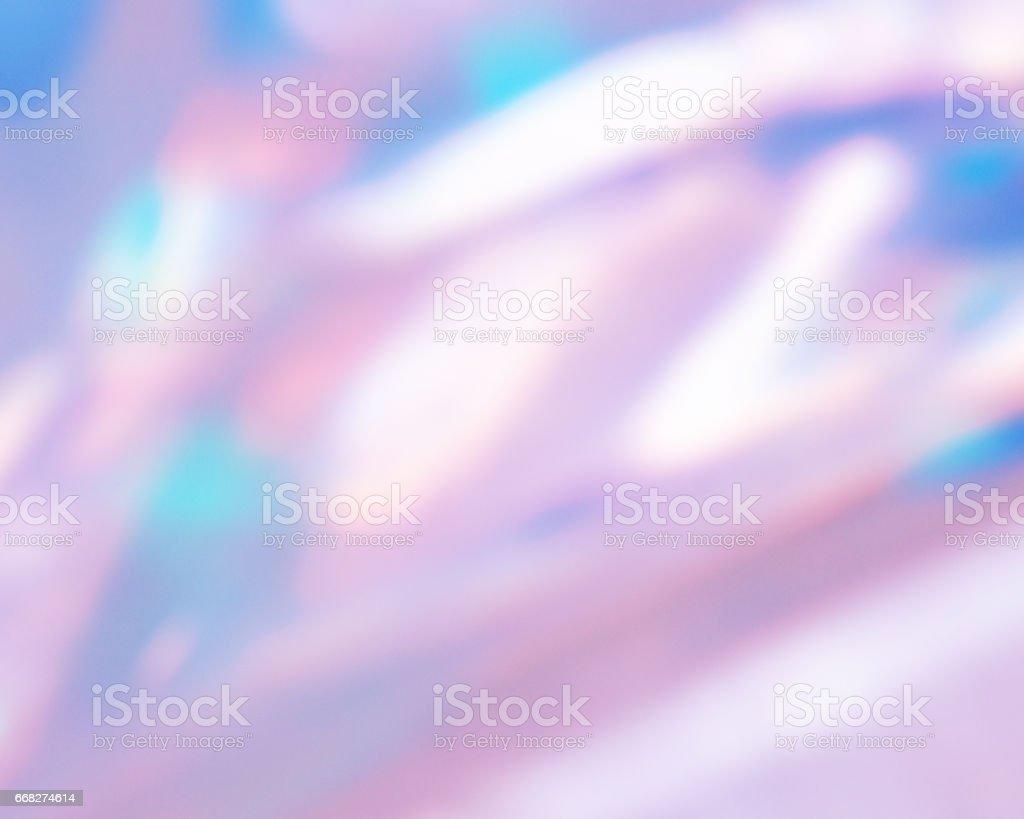 Soft crystal flare background.Pastel tone backdrop. stock photo