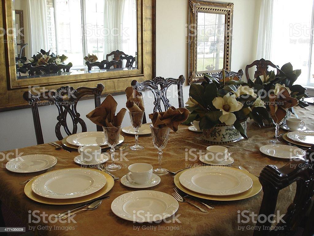 Nice pleasant dinning in brown tones.