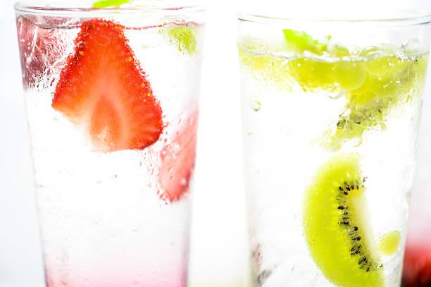 Soft drink, Kiwi and Strawberry Soda