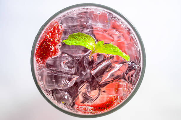 Soft drink, Strawberry Soda