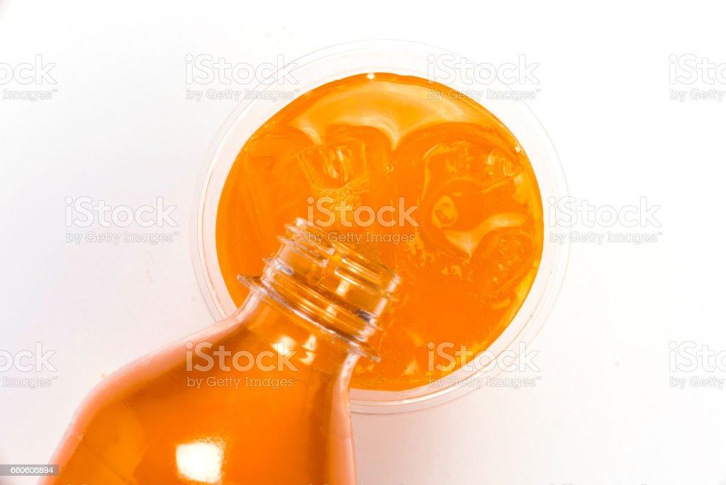Soft drinks soda pop royalty-free stock photo