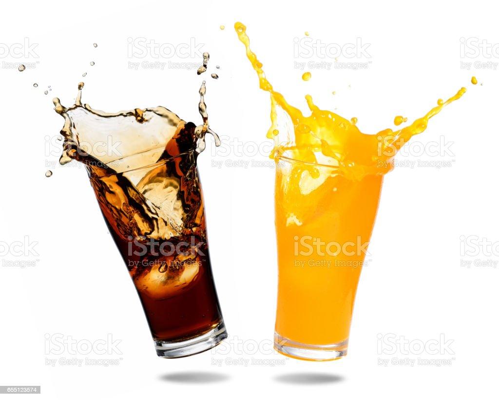 Alkoholfreie Getränke Spritzen Stock-Fotografie und mehr Bilder von ...
