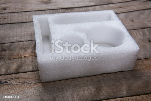 Soft foam packing box.