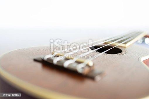 istock A soft focus image of ukulele 1226118543