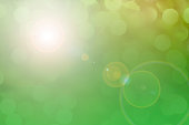 istock Soft green pastel colored lights for Easter or spring season. 926010322