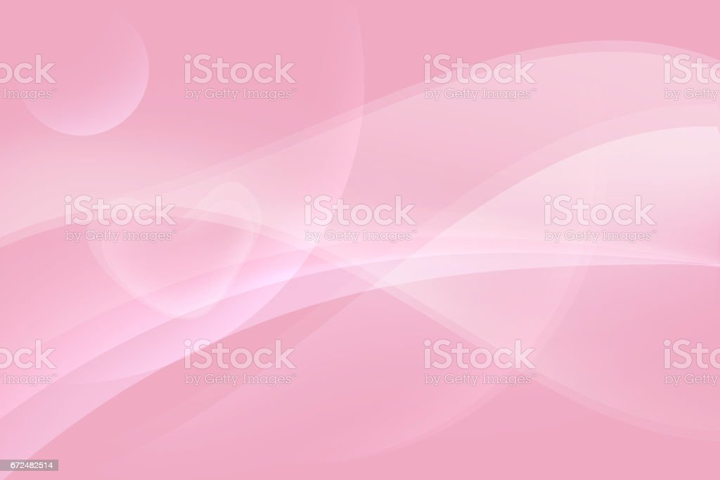 Soft heart in pink abstract background stock photo