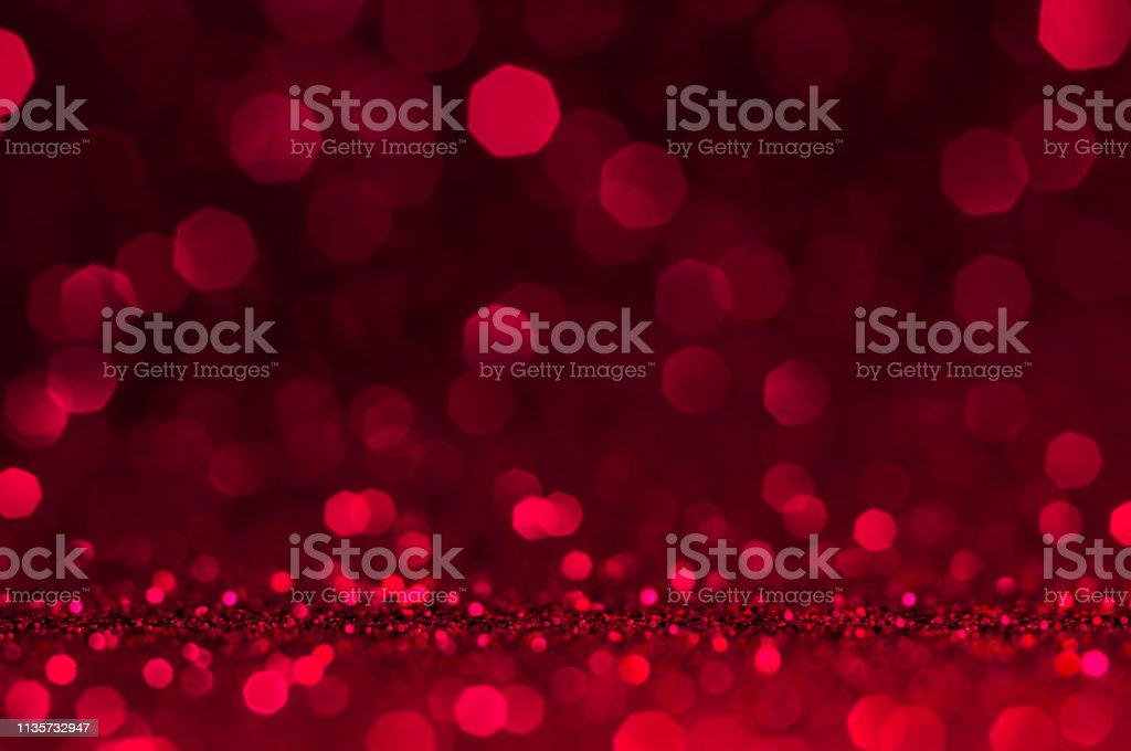 Soft Image Abstract Bokeh Dark Red With Light