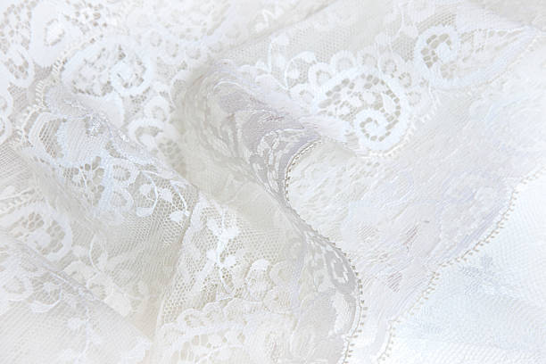 Soft Lace Soft white lace background lace textile stock pictures, royalty-free photos & images