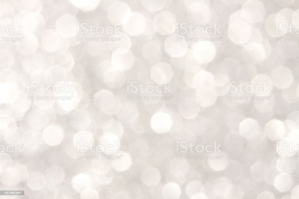 Soft lights silver background stock photo