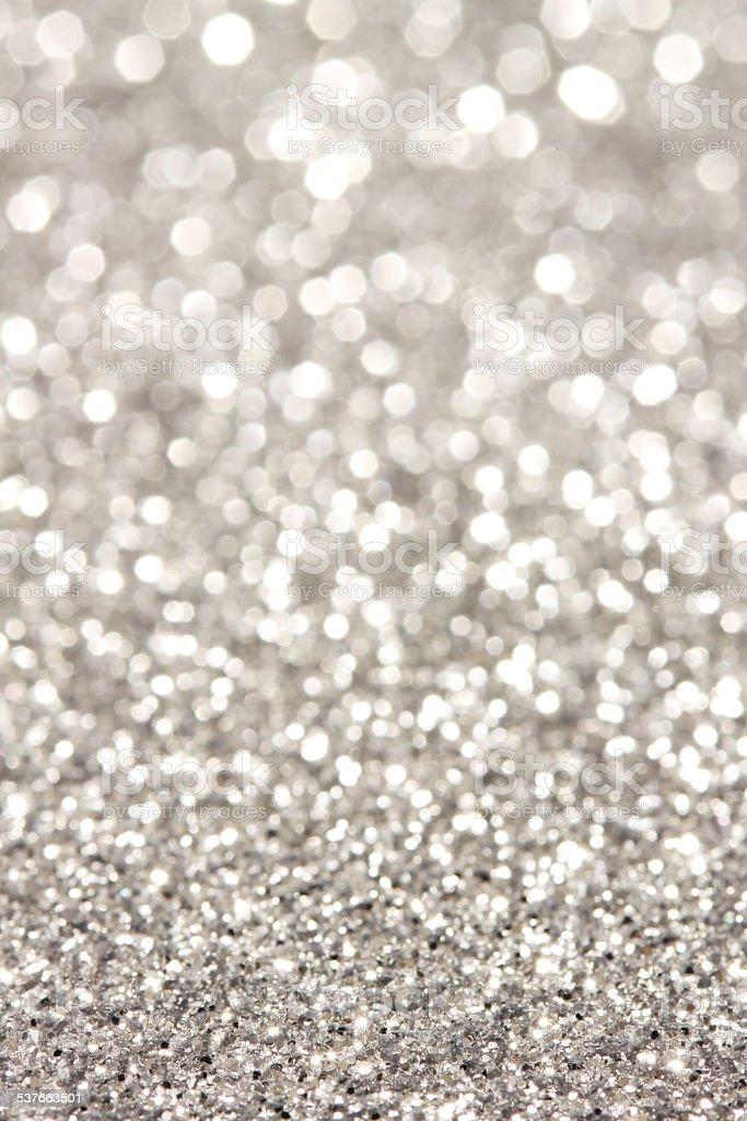 Soft Lights Silver Background