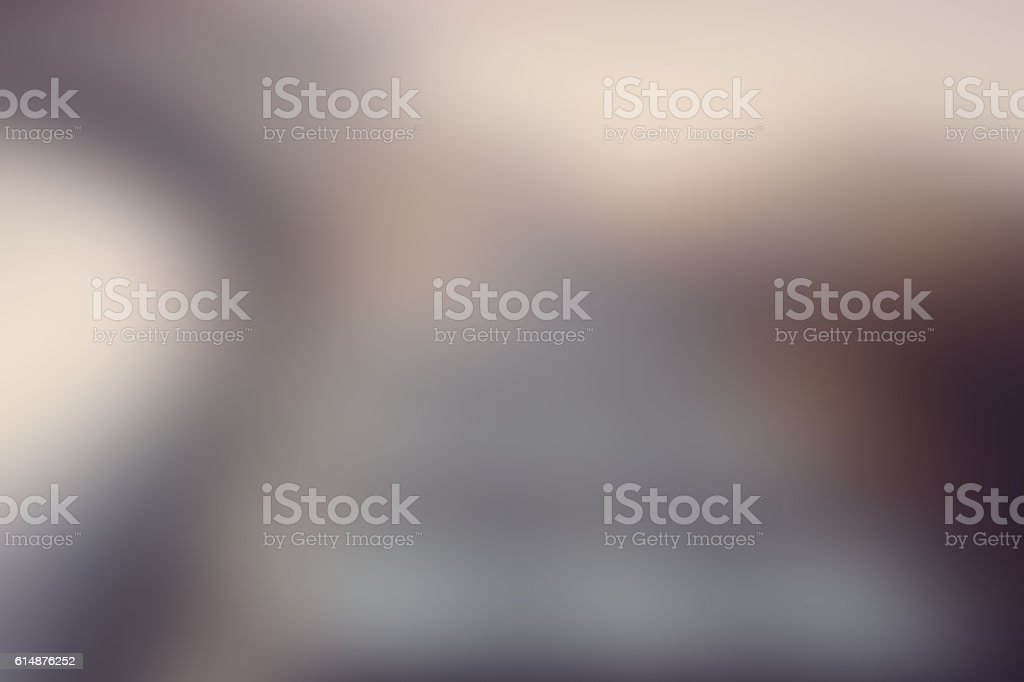 Soft, Muted Blur, Abstract Background, Defocused Chromatic Style, Brown, White stock photo