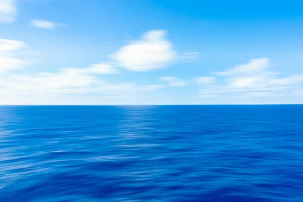Soft Ocean Waves stock photo
