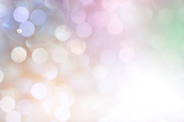soft pastel colored lights for easter or mother's day. - brightly lit stock pictures, royalty-free photos & images