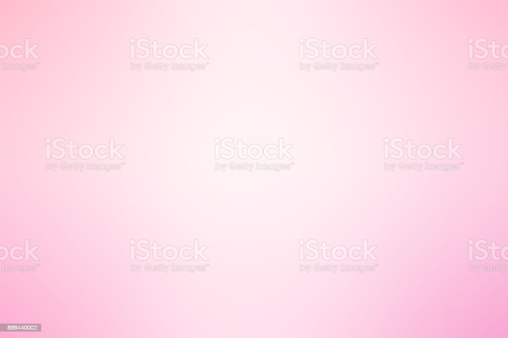 Soft pink and white gradient background stock photo