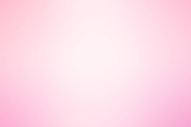 fondo degradado suave color rosa y blanco - sólido fotografías e imágenes de stock