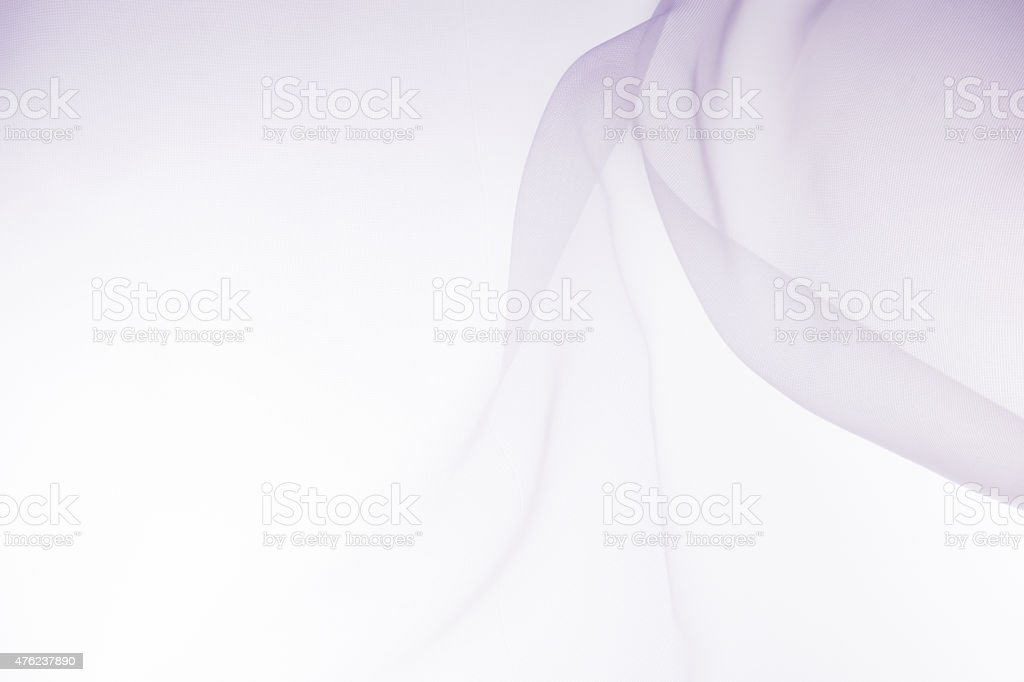 soft pink chiffon with curve and wave stock photo
