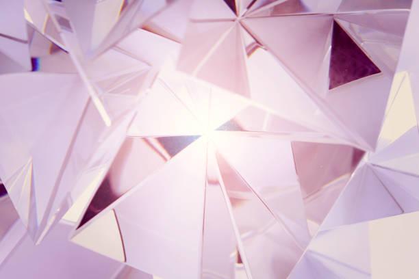 weiche Rosa Kristall – Foto