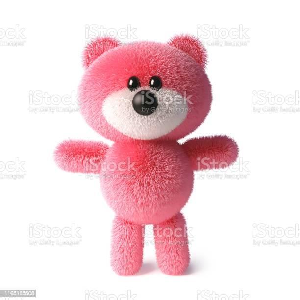 Soft pink fluffy teddy bear character standing peacefully 3d picture id1165185508?b=1&k=6&m=1165185508&s=612x612&h=sdaxiyjiqgc6dluw3wisbhr pmmdeqe750krrwb9maa=