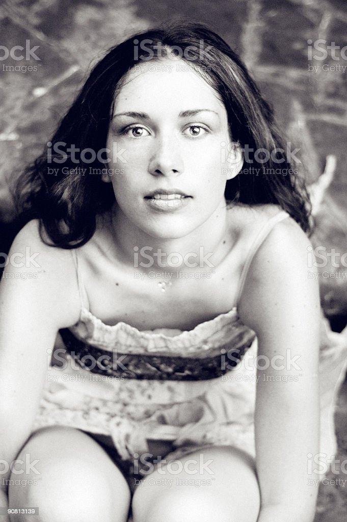 Soft portrait royalty-free stock photo