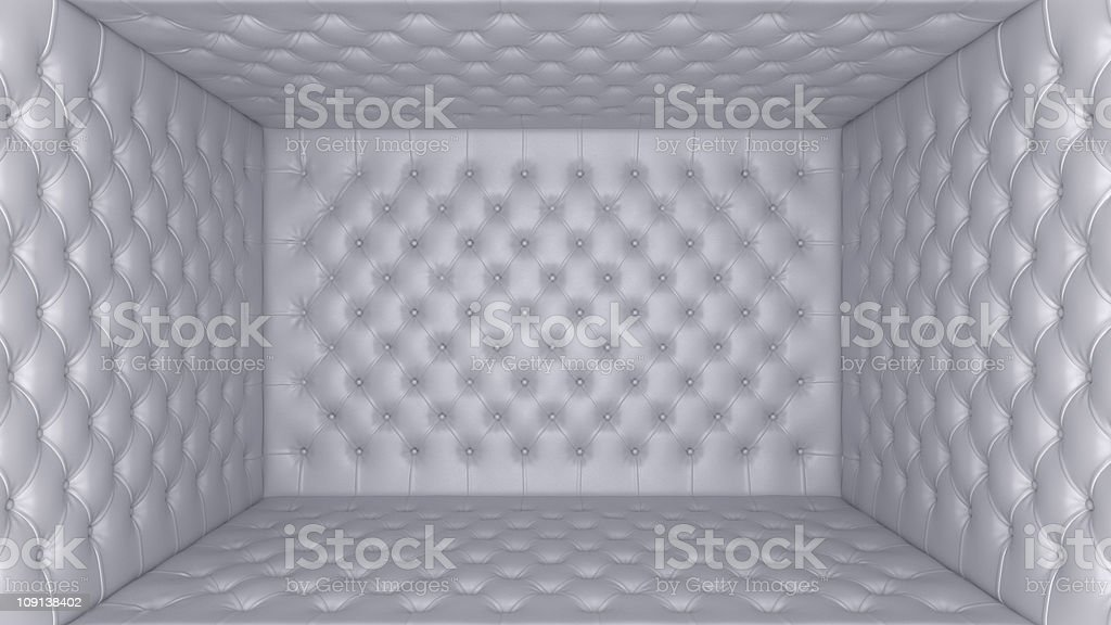 Soft room concept - segregation and quarantine royalty-free stock photo