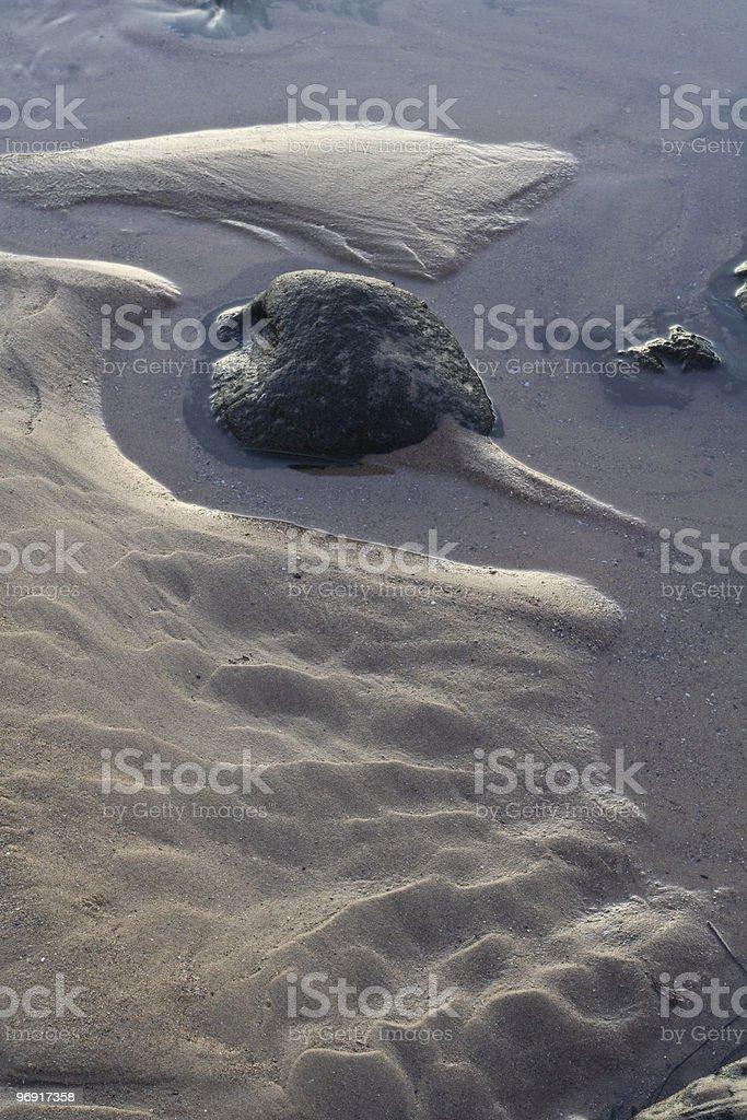 Soft Sand royalty-free stock photo