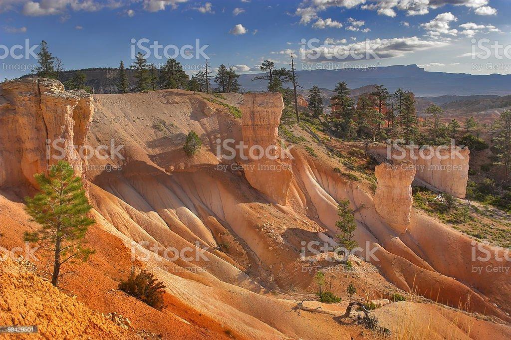 Soft sandy slope royalty-free stock photo