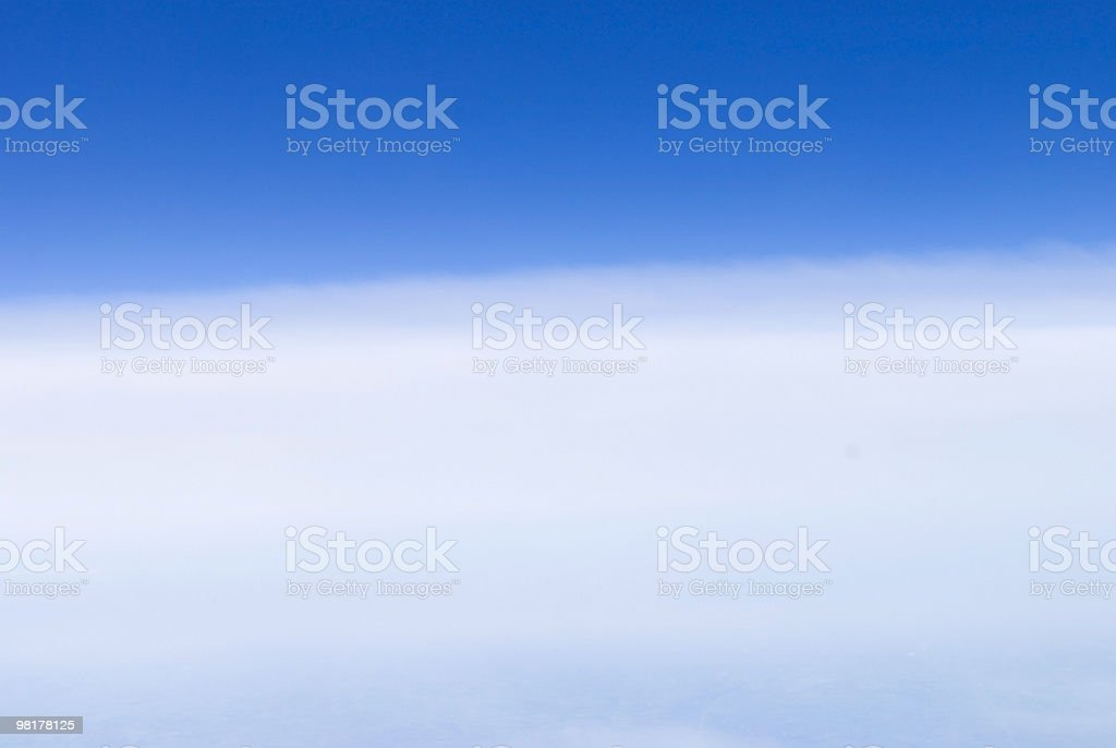 Soft Sky Background royalty-free stock photo
