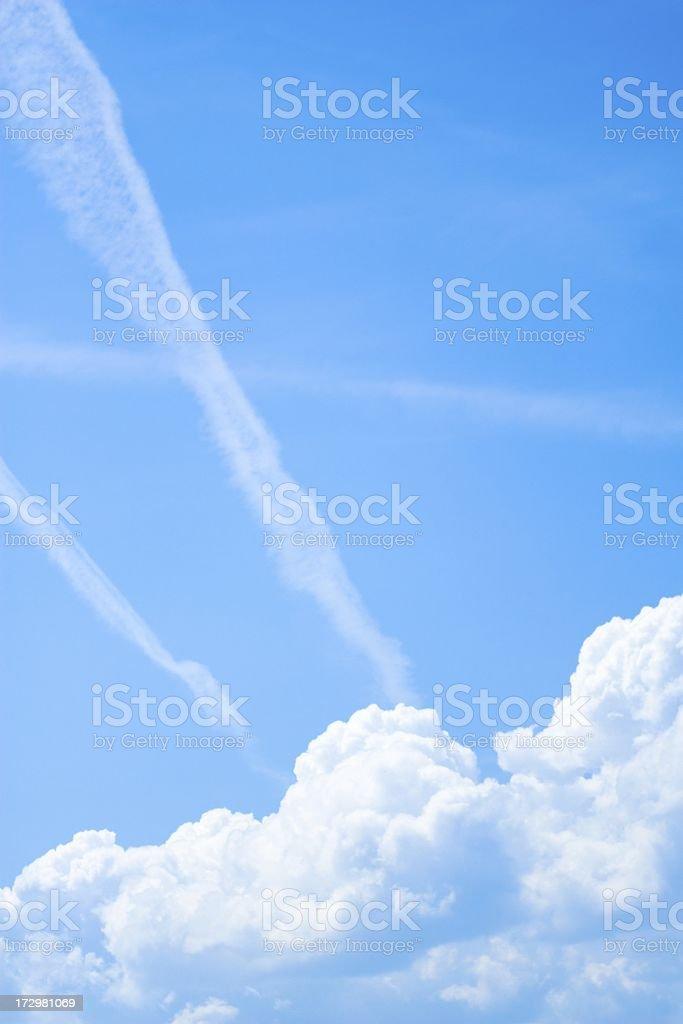 Soft sky royalty-free stock photo