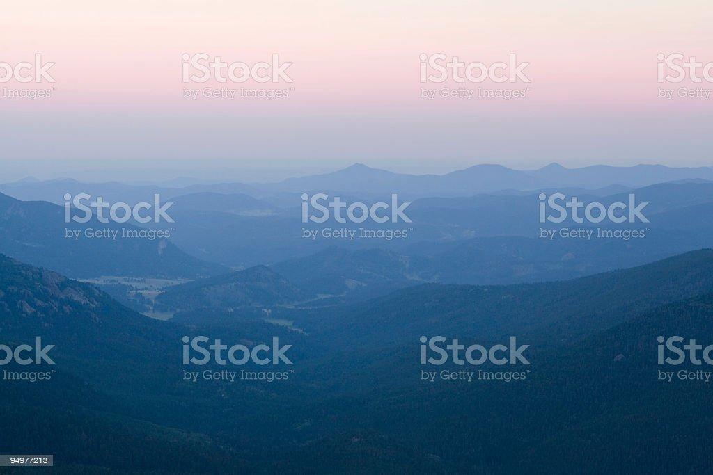 Soft Summer Sunrise Background stock photo