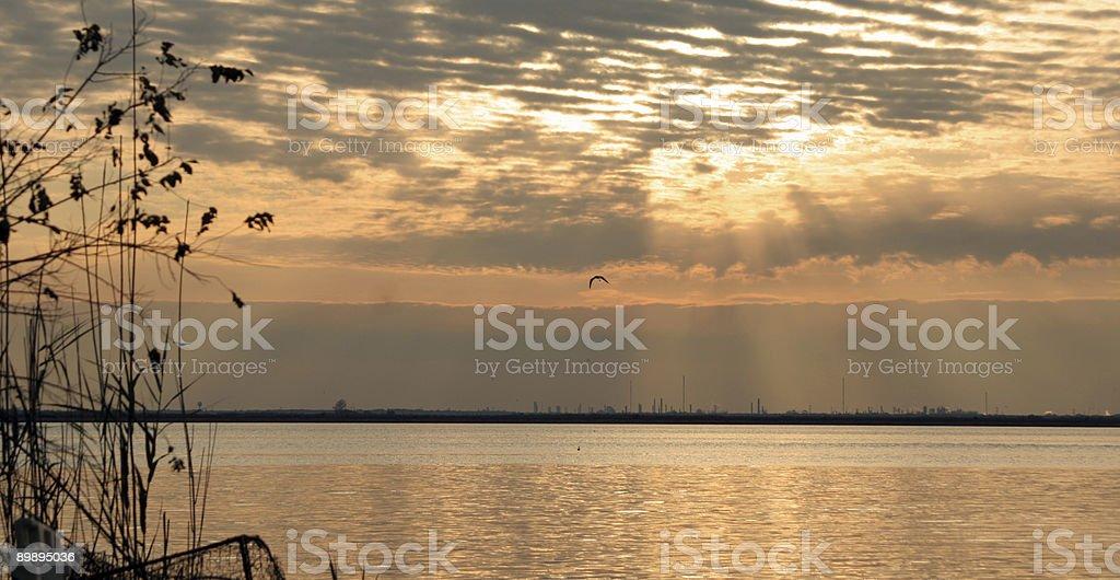 Soft Sunrise royalty-free stock photo