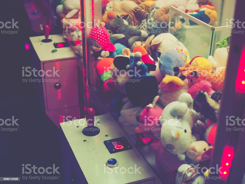Soft Toy game stock photo