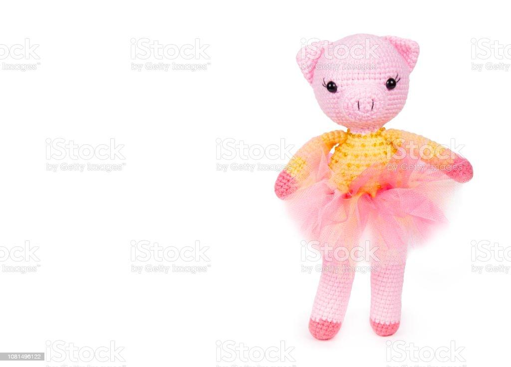 Piglet Pig Handmade Amigurumi Stuffed Toy Knit Crochet Doll VAC | eBay | 737x1024