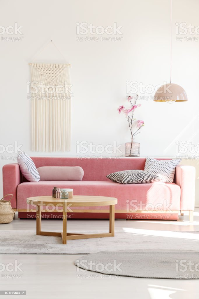 Photo Libre De Droit De Interieur Doux Et Chaleureux Salon